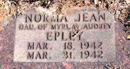 EPLEY, NORMA JEAN - Carroll County, Arkansas | NORMA JEAN EPLEY - Arkansas Gravestone Photos
