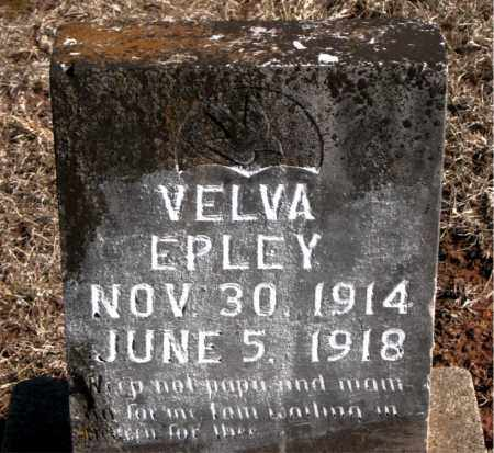 EPLEY, VELVA - Carroll County, Arkansas | VELVA EPLEY - Arkansas Gravestone Photos