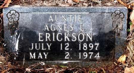 ERICKSON, AGNES L. - Carroll County, Arkansas | AGNES L. ERICKSON - Arkansas Gravestone Photos