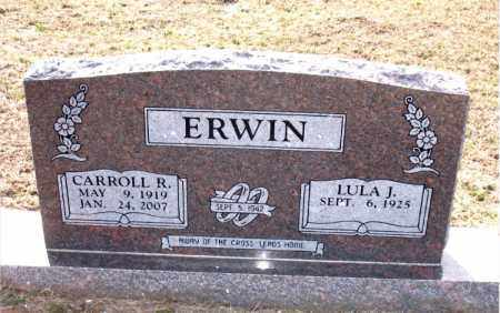 ERWIN, CARROLL  R - Carroll County, Arkansas | CARROLL  R ERWIN - Arkansas Gravestone Photos