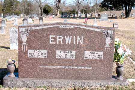 ERWIN, EDWARD - Carroll County, Arkansas | EDWARD ERWIN - Arkansas Gravestone Photos