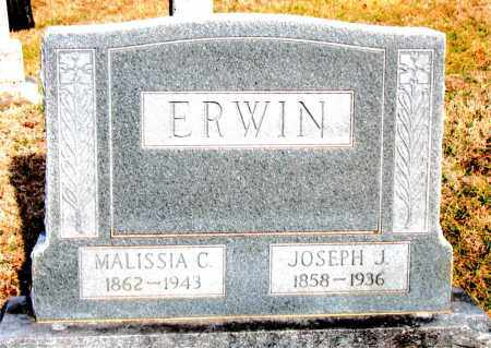 ERWIN, MALISSIA C - Carroll County, Arkansas | MALISSIA C ERWIN - Arkansas Gravestone Photos