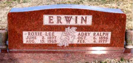 ERWIN, ROXIE  LEE - Carroll County, Arkansas | ROXIE  LEE ERWIN - Arkansas Gravestone Photos
