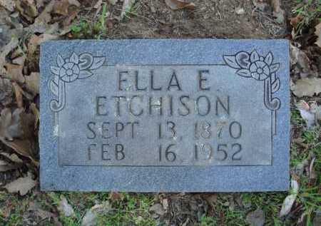 ETCHISON, ELLA E. - Carroll County, Arkansas | ELLA E. ETCHISON - Arkansas Gravestone Photos
