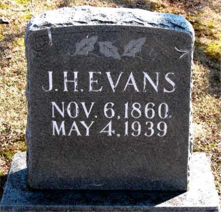 EVANS, J. H. - Carroll County, Arkansas | J. H. EVANS - Arkansas Gravestone Photos