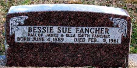 FANCHER, BESSIE  SUE - Carroll County, Arkansas | BESSIE  SUE FANCHER - Arkansas Gravestone Photos