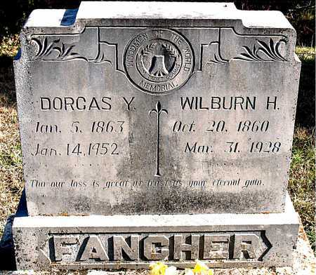 FANCHER, WILBURN  H. - Carroll County, Arkansas | WILBURN  H. FANCHER - Arkansas Gravestone Photos