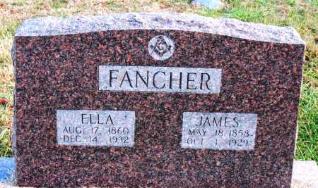 FANCHER, JAMES - Carroll County, Arkansas | JAMES FANCHER - Arkansas Gravestone Photos