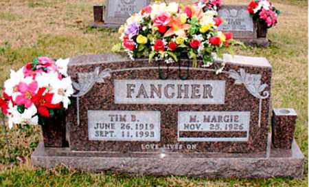 FANCHER, TIM B. - Carroll County, Arkansas | TIM B. FANCHER - Arkansas Gravestone Photos