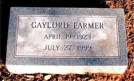 FARMER, GAYLORD - Carroll County, Arkansas | GAYLORD FARMER - Arkansas Gravestone Photos