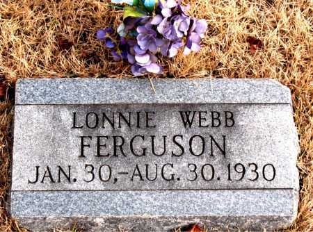 FERGUSON, LONNIE  WEBB - Carroll County, Arkansas | LONNIE  WEBB FERGUSON - Arkansas Gravestone Photos