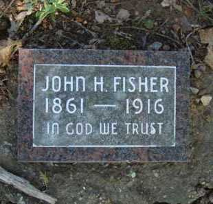 FISHER, JOHN H. - Carroll County, Arkansas | JOHN H. FISHER - Arkansas Gravestone Photos