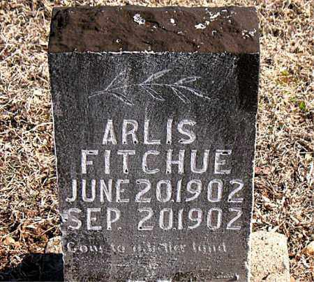 FITCHUE, ARLIS - Carroll County, Arkansas | ARLIS FITCHUE - Arkansas Gravestone Photos