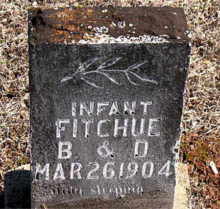 FITCHUE, INFANT - Carroll County, Arkansas | INFANT FITCHUE - Arkansas Gravestone Photos