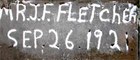 FLETCHER, MR J F - Carroll County, Arkansas | MR J F FLETCHER - Arkansas Gravestone Photos