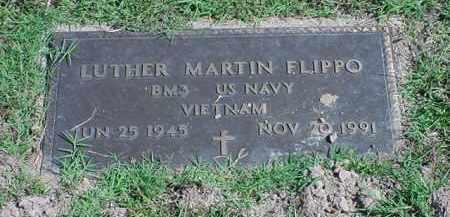 FLIPPO  (VETERAN VIET), LUTHER MARTIN - Carroll County, Arkansas | LUTHER MARTIN FLIPPO  (VETERAN VIET) - Arkansas Gravestone Photos