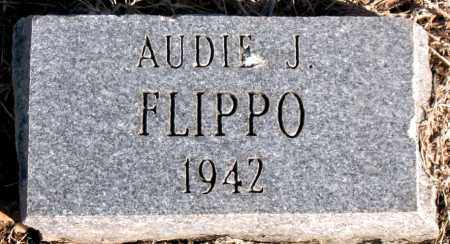 FLIPPO, AUDIE J - Carroll County, Arkansas | AUDIE J FLIPPO - Arkansas Gravestone Photos