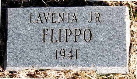 FLIPPO,JR., LAVENIA - Carroll County, Arkansas | LAVENIA FLIPPO,JR. - Arkansas Gravestone Photos