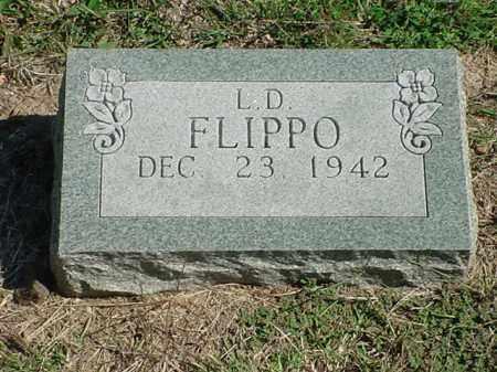 FLIPPO, L. D. - Carroll County, Arkansas | L. D. FLIPPO - Arkansas Gravestone Photos