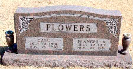 FLOWERS, FRANCES A. - Carroll County, Arkansas | FRANCES A. FLOWERS - Arkansas Gravestone Photos