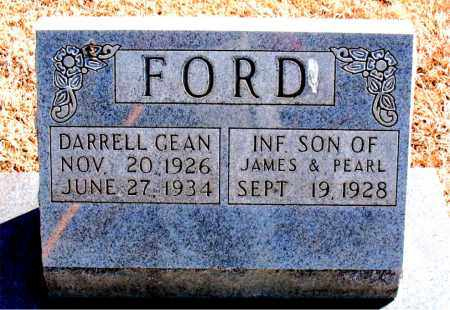 FORD, DARRELL GEAN - Carroll County, Arkansas | DARRELL GEAN FORD - Arkansas Gravestone Photos
