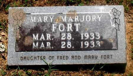 FORT, MARY MARJORY - Carroll County, Arkansas | MARY MARJORY FORT - Arkansas Gravestone Photos