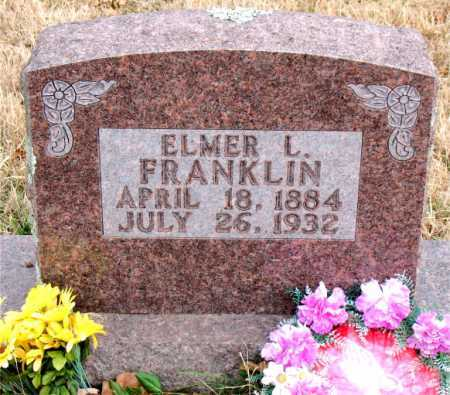 FRANKLIN, ELMER L - Carroll County, Arkansas | ELMER L FRANKLIN - Arkansas Gravestone Photos