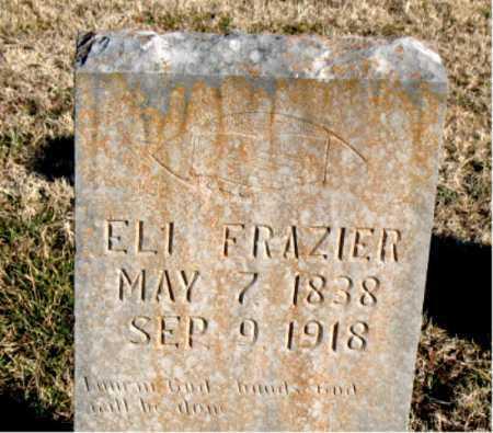 FRAZIER, ELI - Carroll County, Arkansas | ELI FRAZIER - Arkansas Gravestone Photos