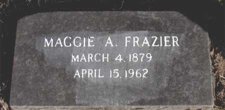 FRAZIER, MAGGIE A. - Carroll County, Arkansas | MAGGIE A. FRAZIER - Arkansas Gravestone Photos