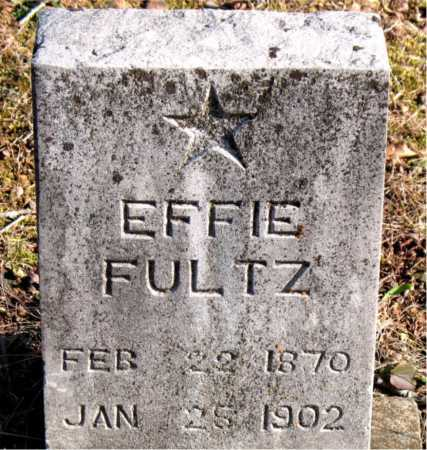 FULTZ, EFFIE - Carroll County, Arkansas | EFFIE FULTZ - Arkansas Gravestone Photos