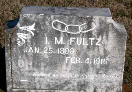 FULTZ, I.  M. - Carroll County, Arkansas | I.  M. FULTZ - Arkansas Gravestone Photos