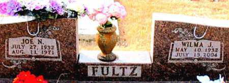 FULTZ, JOE N. - Carroll County, Arkansas | JOE N. FULTZ - Arkansas Gravestone Photos