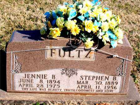 FULTZ, JENNIE B. - Carroll County, Arkansas | JENNIE B. FULTZ - Arkansas Gravestone Photos
