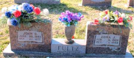 FULTZ, ZONA  J. - Carroll County, Arkansas | ZONA  J. FULTZ - Arkansas Gravestone Photos