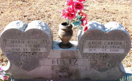 FULTZ, MARIE ROSE - Carroll County, Arkansas | MARIE ROSE FULTZ - Arkansas Gravestone Photos