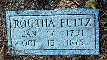 FULTZ, ROUTHA - Carroll County, Arkansas | ROUTHA FULTZ - Arkansas Gravestone Photos