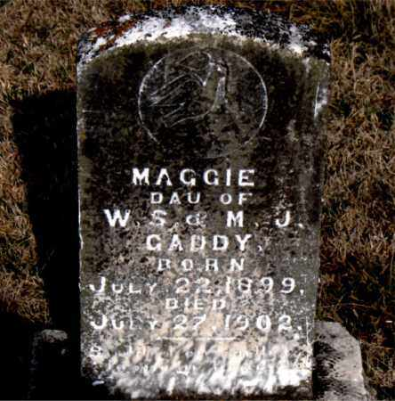 GADDY, MAGGIE - Carroll County, Arkansas | MAGGIE GADDY - Arkansas Gravestone Photos