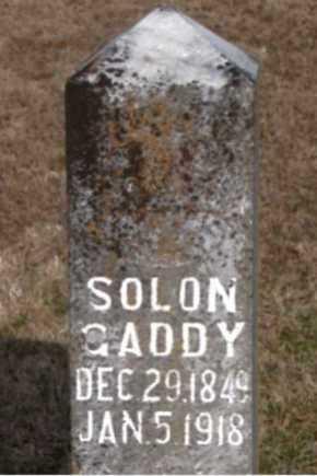 GADDY, SOLON - Carroll County, Arkansas | SOLON GADDY - Arkansas Gravestone Photos