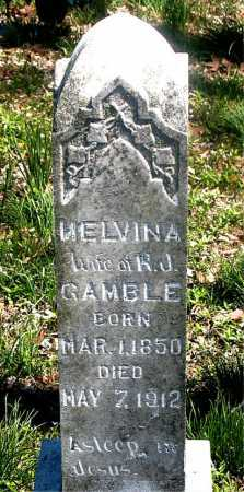 GAMBLE, MELVINA - Carroll County, Arkansas | MELVINA GAMBLE - Arkansas Gravestone Photos