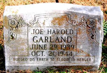 GARLAND, JOE HAROLD - Carroll County, Arkansas | JOE HAROLD GARLAND - Arkansas Gravestone Photos