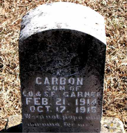 GARNER, CARBON - Carroll County, Arkansas | CARBON GARNER - Arkansas Gravestone Photos