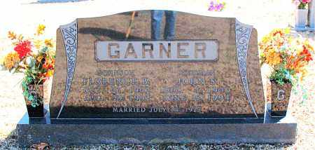 JOHNSON GARNER, FLORENCE B. - Carroll County, Arkansas | FLORENCE B. JOHNSON GARNER - Arkansas Gravestone Photos