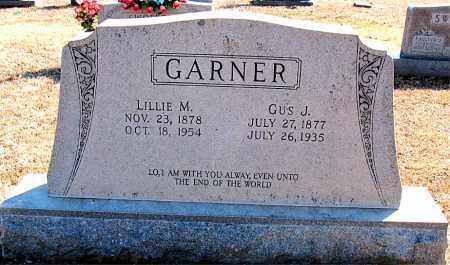 GARNER, GUS J. - Carroll County, Arkansas | GUS J. GARNER - Arkansas Gravestone Photos