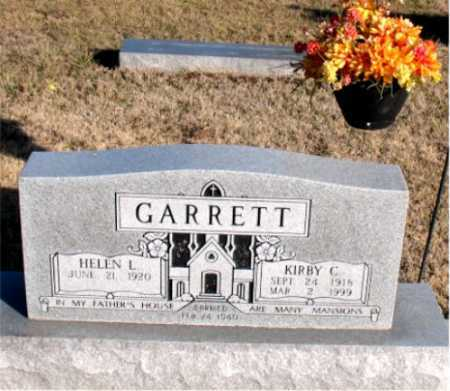 GARRETT, KIRBY C. - Carroll County, Arkansas | KIRBY C. GARRETT - Arkansas Gravestone Photos