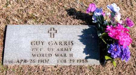 GARRIS (VETERAN WWII), GUY - Carroll County, Arkansas | GUY GARRIS (VETERAN WWII) - Arkansas Gravestone Photos
