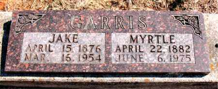 GARRIS, JAKE - Carroll County, Arkansas | JAKE GARRIS - Arkansas Gravestone Photos