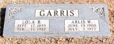 GARRIS, ARLIS  W. - Carroll County, Arkansas | ARLIS  W. GARRIS - Arkansas Gravestone Photos