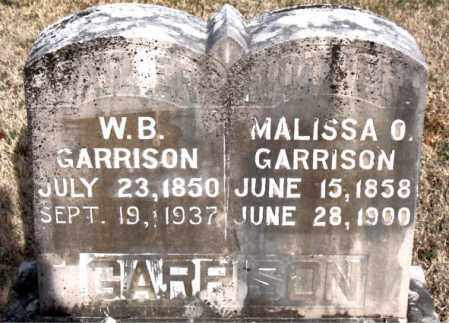 GARRISON, MALISSA O - Carroll County, Arkansas | MALISSA O GARRISON - Arkansas Gravestone Photos
