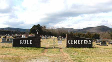 *RULE CEMETERY GATE,  - Carroll County, Arkansas |  *RULE CEMETERY GATE - Arkansas Gravestone Photos