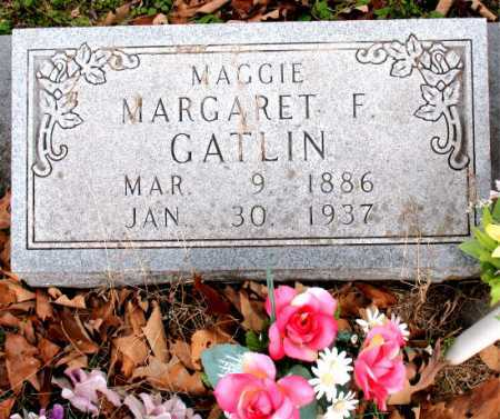 "GATLIN, MARGARET F. ""MAGGIE"" - Carroll County, Arkansas 